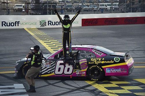 Brandon Brown wins Talladega NASCAR Xfinity race halted by darkness