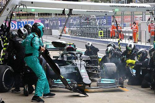 Cómo los problemas de Bottas ayudaron a Hamilton a ganar en Sochi