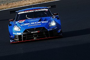 Nissan sets blistering pace in first Super GT test