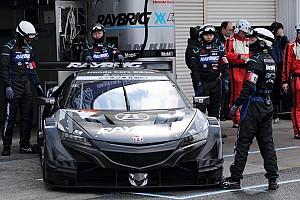 """天候に翻弄された岡山公式テスト、GT500クラスで気になった日産とホンダの""""流れ"""""""