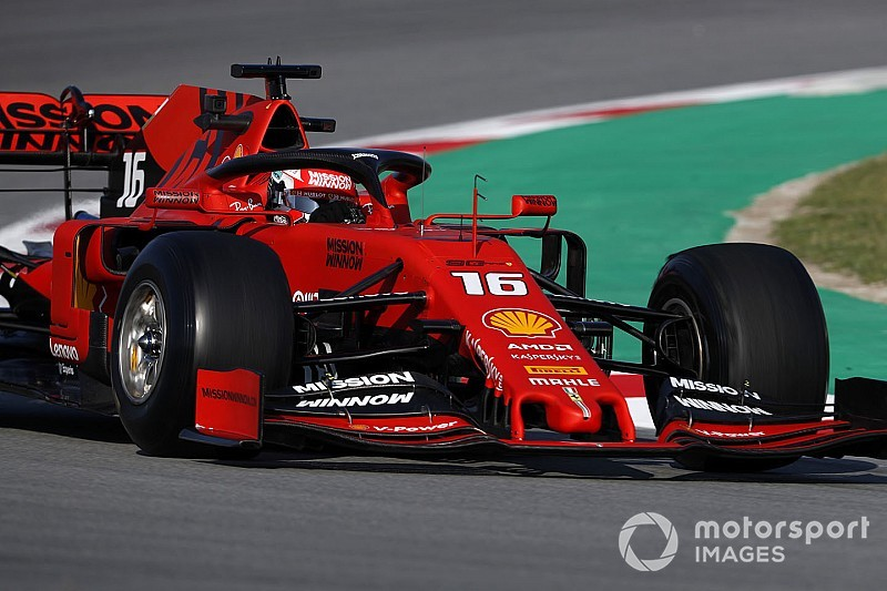 Leclerc quickest in morning of Day 3 as times tumble