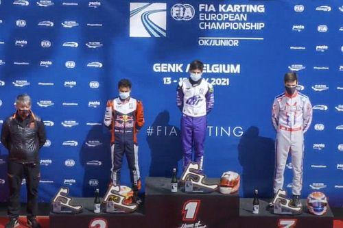 Rafa Câmara abre Europeu de Kart com vitória em Genk