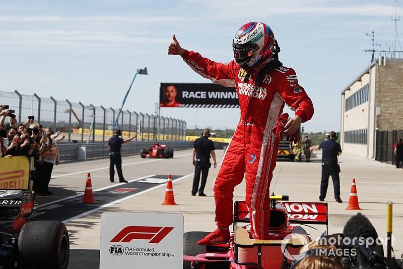 Raikkonen rompió la mayor sequía de victorias en la F1