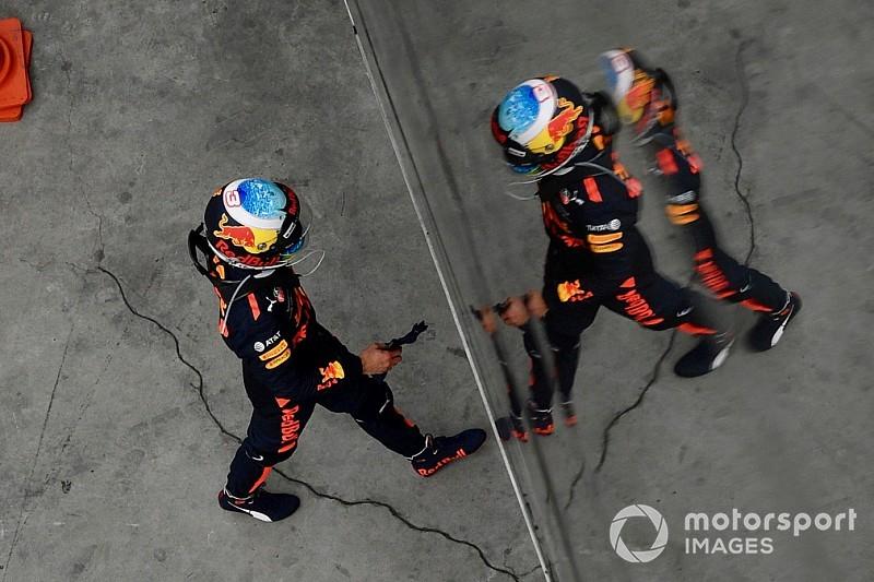 Ricciardo a pris des