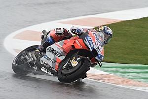 MotoGPバレンシア決勝:ドヴィツィオーゾ4勝目。KTM初表彰台、中上6位