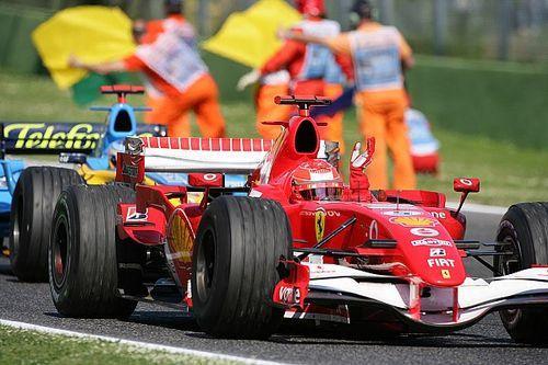 Witness the first F1 race at Imola since 2006