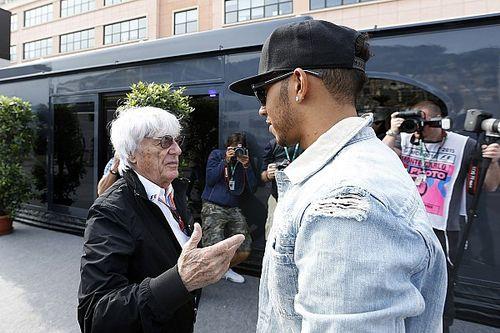 Ecclestone Prediksi Hamilton Akan Juara karena Dua Faktor