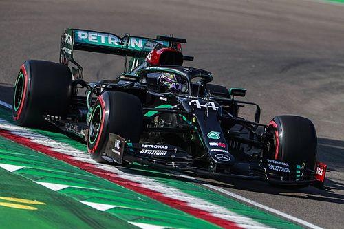Hamilton najszybszy w Imoli