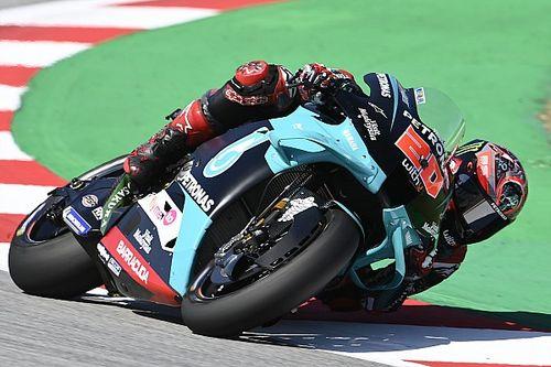 Quartararo vence en Barcelona y Rossi se cae siendo 2°