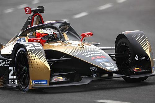Vergne wint achter de safety car E-Prix van Rome