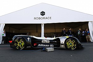 Roborace Breaking news Roborace car completes first public run at Paris ePrix