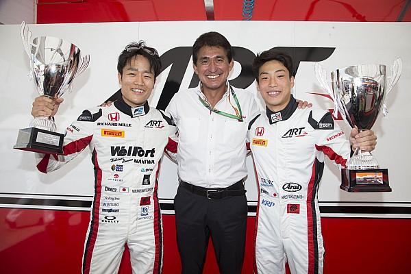 GP3 速報ニュース 【F2, GP3】鈴木亜久里、松下と福住を語る「自分が勝つより嬉しい」
