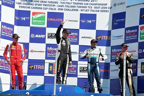Marcucci la spunta su Malucelli nella prima gara di Misano