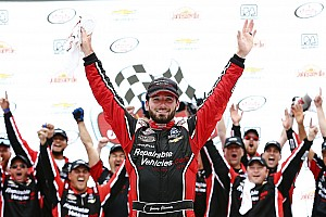 NASCAR XFINITY Race report Clements takes upset win in spin-and-win finish at Road America