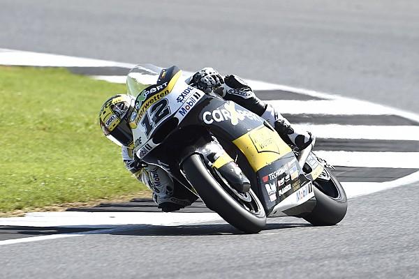 Moto2 Tom Lüthi verpasst das Podium in Silverstone:
