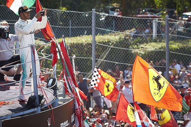 """Mercedes-Star Lewis Hamilton gibt zu: """"Ich bin Ferrari-Fan"""""""