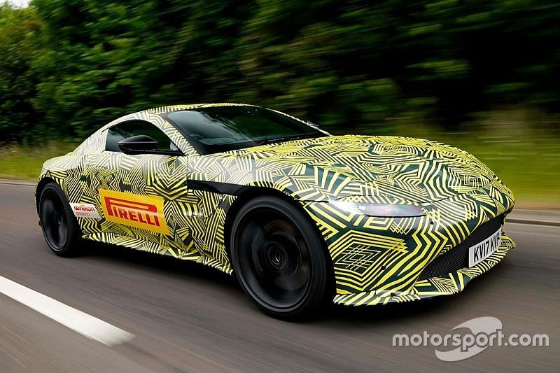 Aston Martin V8 Vantage 2019 (ahora en teaser)