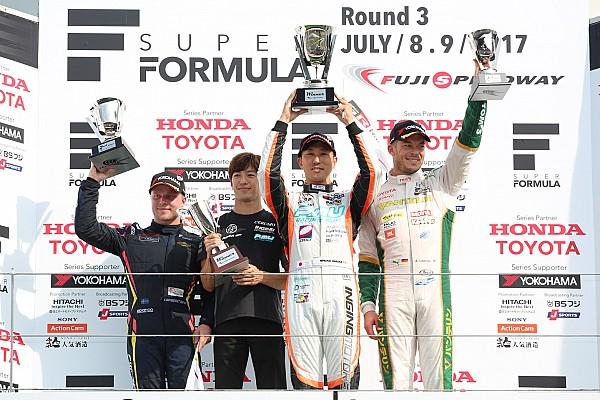 Super Formula Race report Fuji Super Formula: Ishiura wins from Rosenqvist