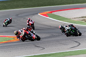 World Superbike Race report Aragon WSBK: Davies ends Rea's reign with Race 2 win