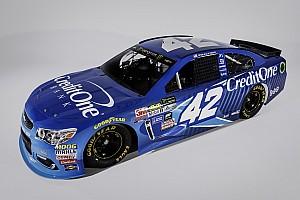 NASCAR Cup Breaking news Credit One Bank expands Ganassi sponsorship to Larson
