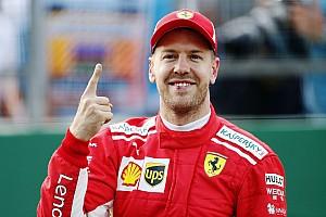 Fórmula 1 Crónica de Clasificación Vettel y Hamilton largarán en la primera fila en Azerbaiyán