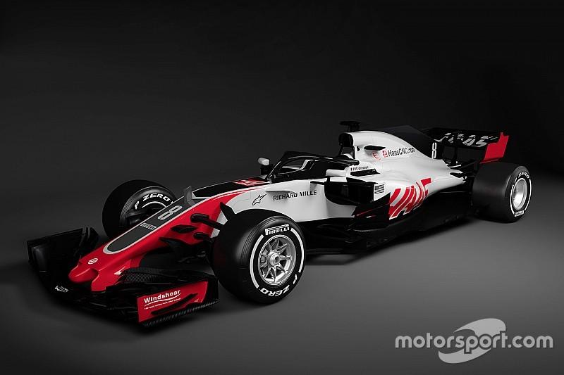 Formel 1 2018: US-Team Haas zeigt ersten Neuwagen