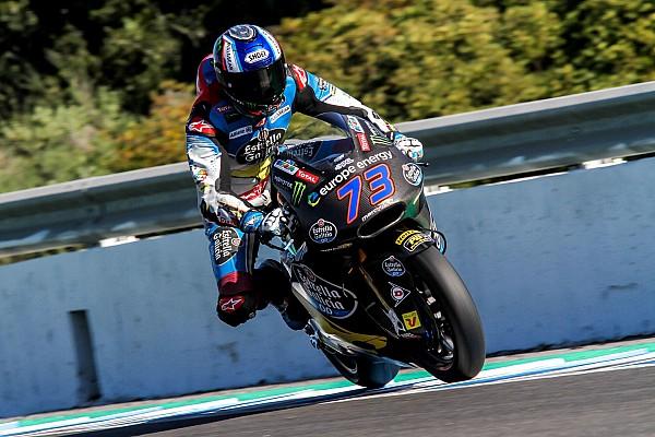 Test Jerez, Giorno 3: Alex Marquez risponde a Pecco Bagnaia
