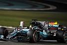 F1 F1アブダビGP FP3速報:ハミルトン再び首位。メルセデスが1-2