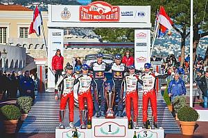 WRC Actualités Le double podium du Monte-Carlo, le