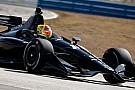 Fittipaldi impresionó en el test de IndyCar