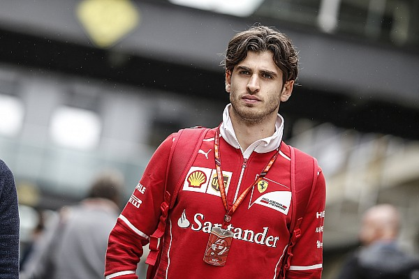 F1 hopeful Giovinazzi joins Formula E rookie test