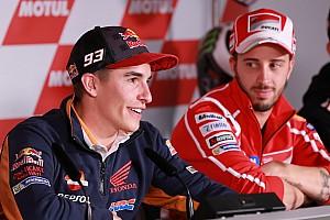 MotoGP News Marc Marquez: Wie ihn Andrea Dovizioso inspirierte