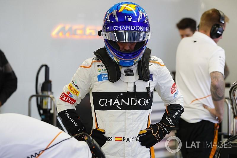 Alonso kicsit csalódott, látva a Red Bull tempóját