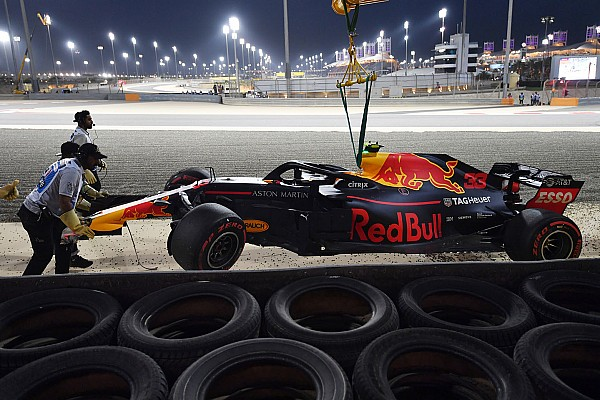 Formula 1 Renault engine blameless in Verstappen's Bahrain Q1 crash