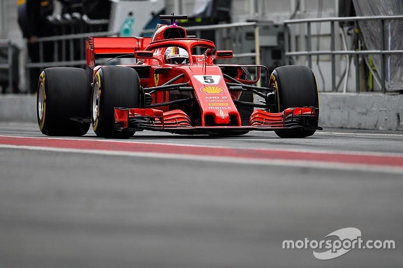 Vettel diz que Mercedes começa ano como favorita