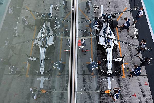 Формула 1 Анализ: кто был быстрейшим пилотом Williams на тестах в Абу-Даби