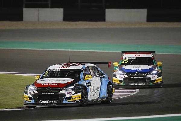 Qatar WTCC: Chilton wins as Bjork closes on title