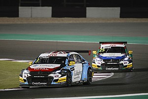 WTCC Race report Qatar WTCC: Chilton wins as Bjork closes on title