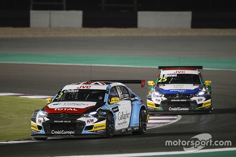 Qatar WTCC: Chilton wins as Bjork closes on title