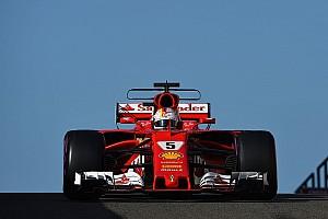 F1 Reporte de pruebas Vettel lidera el último test de F1 con Kubica en 7º