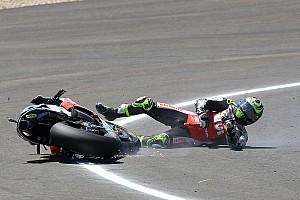 MotoGP News Keine Frakturen: Crutchlow bei schwerem Crash im Glück