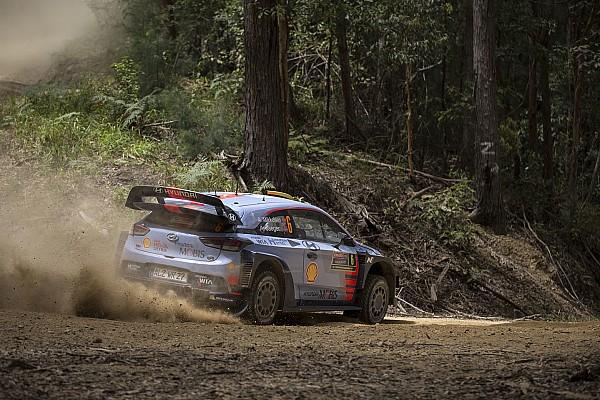 WRC Etappenbericht