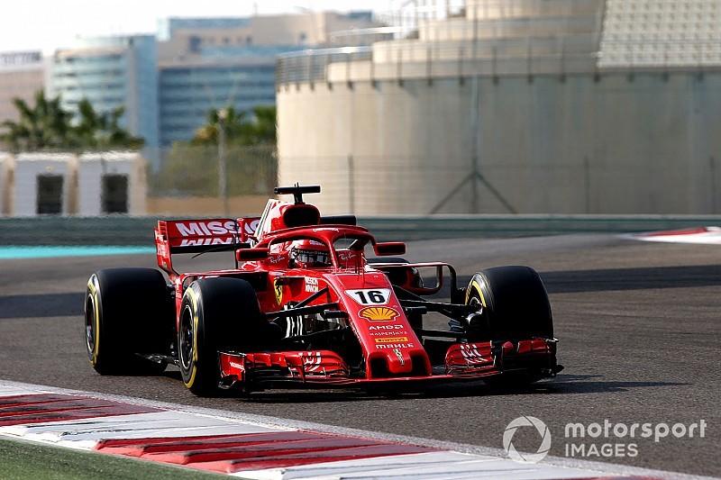 アブダビテスト2日目:フェラーリ移籍のルクレール首位。ガスリー2番手