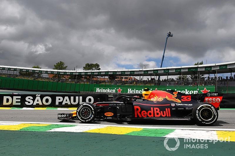 Ферстаппена, Феттеля и Хэмилтона разделило менее десятой в первой тренировке в Сан-Паулу