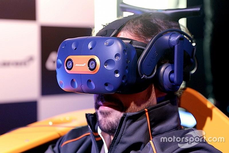 A McLaren VR headsetet ad ki