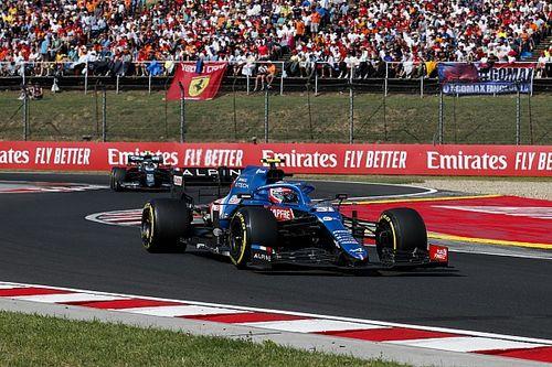 """Sur un nuage, Ocon félicite """"le travail d'équipe"""" d'Alonso"""