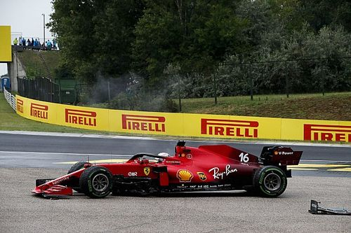 Ferrari forzado a cambiar el motor de Leclerc y espera penalización