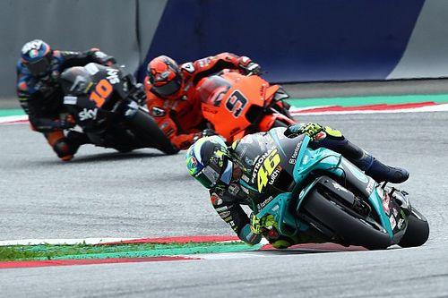 Rossi: Márquez es muy agresivo con todos sus rivales