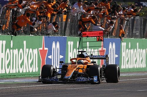 Ricciardo 'lost for words' after ending McLaren win drought in Monza