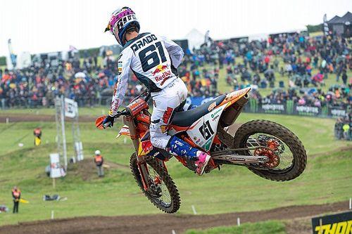 MXGP: Prado acaricia el podio en Holanda; Fernández aguanta en MX2